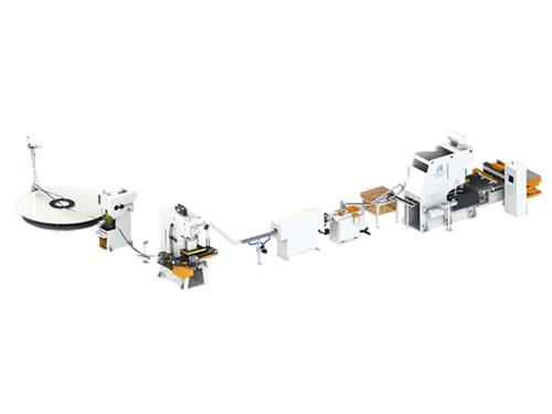 全自动易拉盖生产线-单通道100盖/分钟